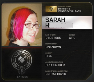 A District 8 ID card for your blogess.